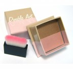 W7 COSMETICS Double Act Bronzer And Highlighter Powder - MATT BRONZER ÉS HIGHLIGHTER DOBOZBAN ECSETTEL