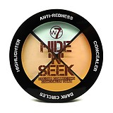 W7 COSMETICS Hide & Seek ANTI RED - KORREKTOR PALETTA