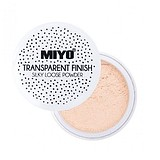 MIYO Transparent Finish Loose Powder - MATT FINISH TRANSZPARENT PÚDER