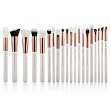 JESSUP 20 pcs Brush Set Pearl White/Rose Gold T225