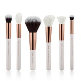 JESSUP 6 pcs Brush Set Pearl White/Rose Gold T224