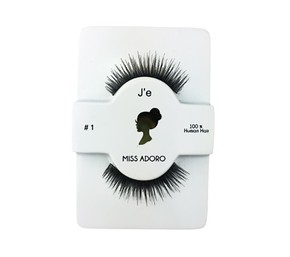 MISS ADORO Lashes 01 - SOROS MŰSZEMPILLA 100% NATURAL