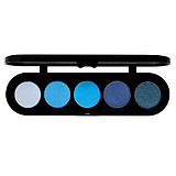 MAKE-UP ATELIER Eyeshadow Palette T07 Blue - SZEMFESTÉK PALETTA