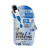W7 COSMETICS The Full Facial Ultra Hydrating 2 Step Treatment Mask - 3D ULTRA HIDRATÁLÓ MASZK 2 LÉPÉSBEN