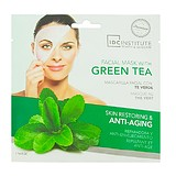 IDC COLOR Facial Mask With Green Tea 22 g - ANTI-AGING REGENERÁLÓ HATÁSÚ ZÖLD TEA FÁTYOLMASZK