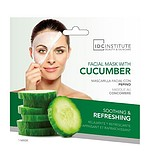 IDC COLOR Facial Mask With Cucumber - UBORKÁS FÁTYOLMASZK