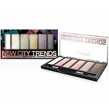 REVERS New City Trends Professional Eyeshadow Palette - SZEMFESTÉK PALETTA